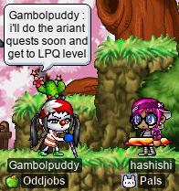 Gambolpuddy and hashishi graduated KPQ